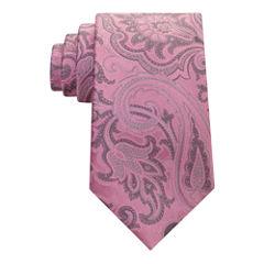Stafford Comfort Stretch Paisley Tie