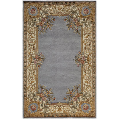 momeni open field handcarved wool rectangular rug