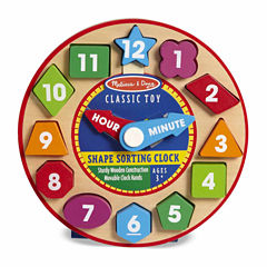Melissa & Doug® Shape Sorting Clock
