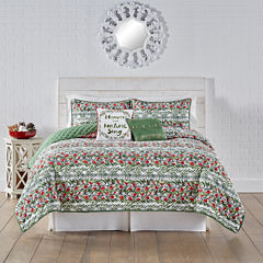 Kathy Davis Garlands Of Grandeur Quilt Set