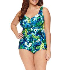 Le Cove Floral One Piece Swimsuit