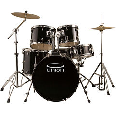 Union U5 5-pc. Drum Set with Hardware, Cymbals and Throne