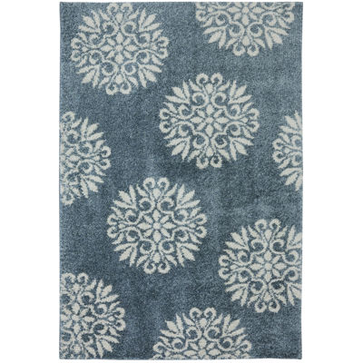 mohawk home exploded medallions rectangular rug - 3x5 Rugs