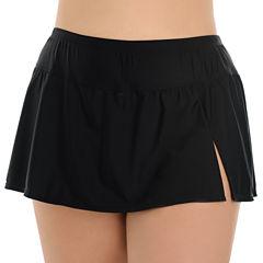 Le Cove Swim Skirt-Plus