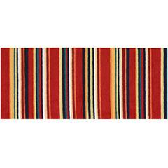 Nourison® Stripes Washable Runner Rug