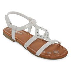 Arizona Holly Girls Strap Sandals - Little Kids