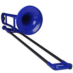 Jiggs pBone Blue Lightweight Plastic Trombone