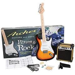 Archer Blues & Rock Jr. Electric Guitar Package