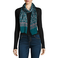 V. Fraas Oblong Paisley Scarf