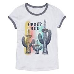Arizona Girls Short Sleeve Graphic Tee - Girls' 7-16 and Plus
