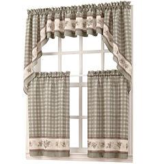 Berkshire Kitchen Curtains