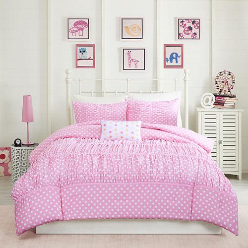 Mi Zone Penelope Ruched Comforter Set