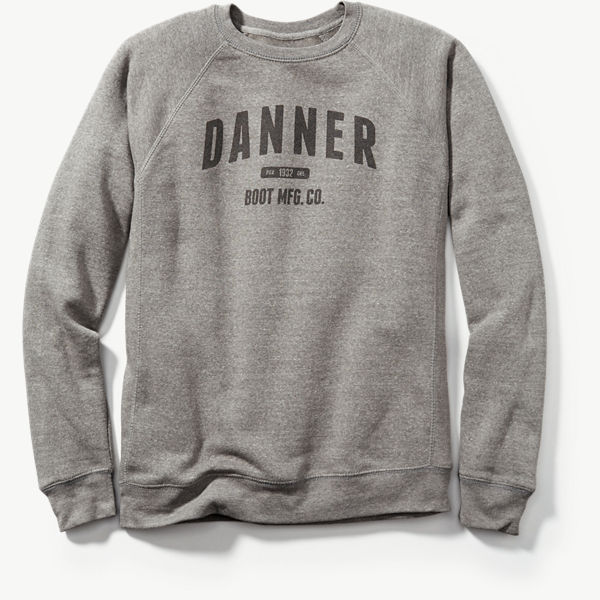Danner Athletic Sweatshirt - Heather Gray