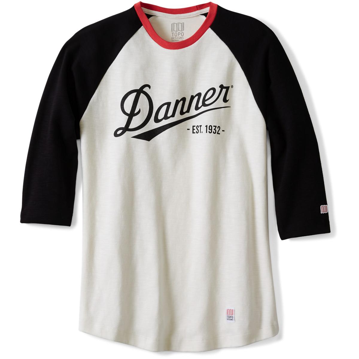 Topo x Danner Baseball Tee - Natural/Black