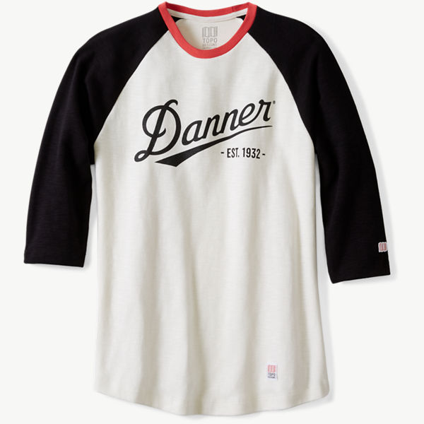 Topo x Danner Baseball Tee - Natural/Black