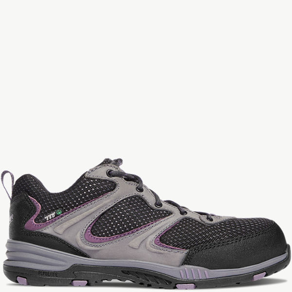 "Women's Springfield Low 3"" Gray/Purple ESD NMT"