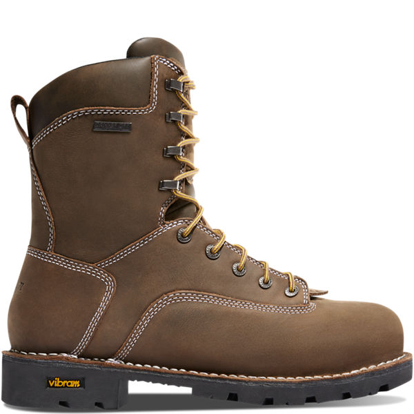 """Gritstone 8"""" Brown"""