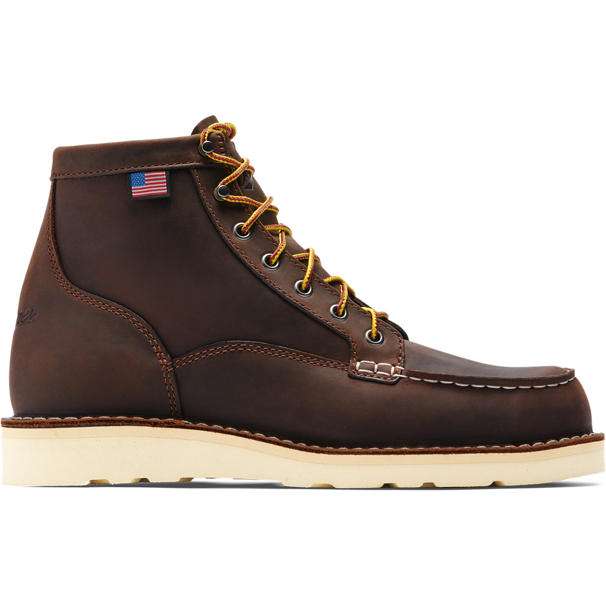danner bull run moc toe 6 brown