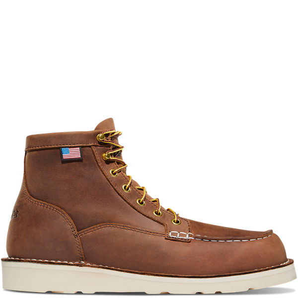 "Bull Run Moc Toe 6"" Tobacco"