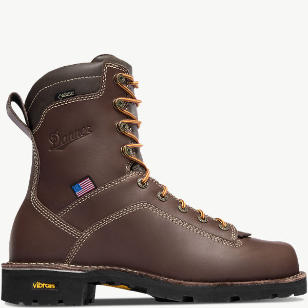 """Quarry USA 8"""" Brown"""