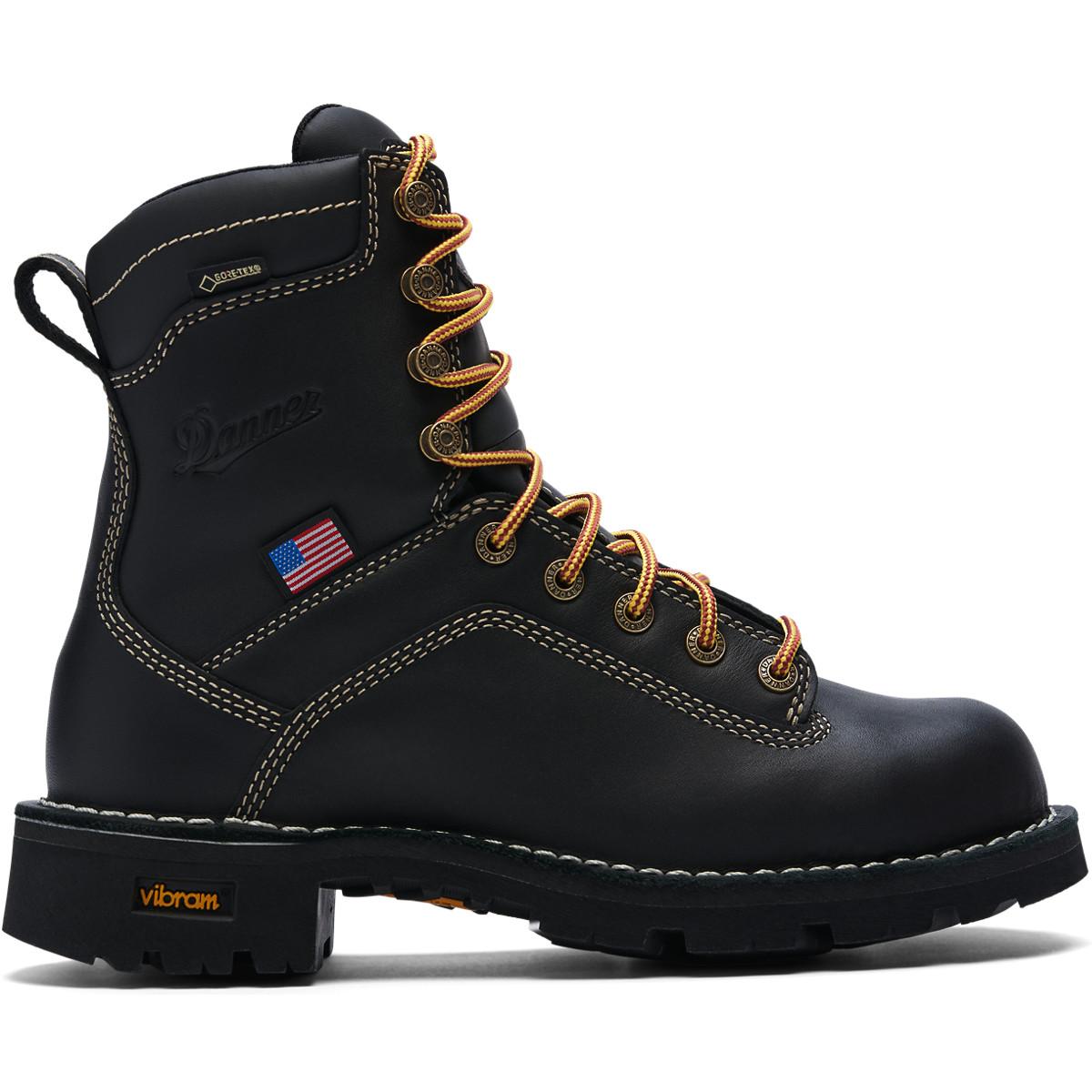 ccfbdb5646e9 Danner - Women s Quarry USA Black Alloy Toe