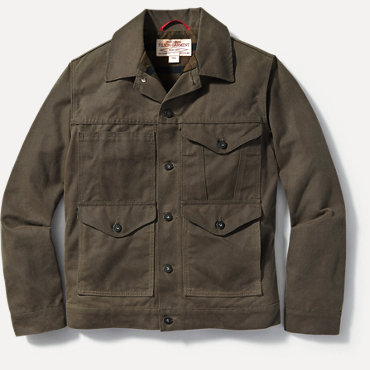 Filson Lined Short Cruiser Jacket - Wax Brown