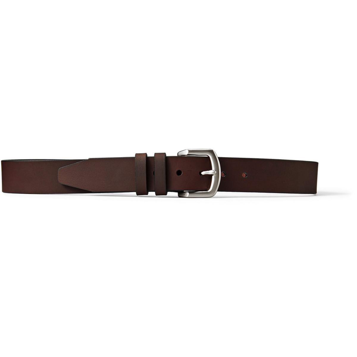 Danner Brushgun Belt - Brown w/ Nickel