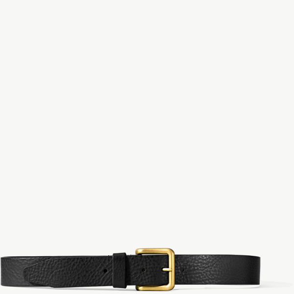 Danner Catch & Release Belt - Black w/ Brass