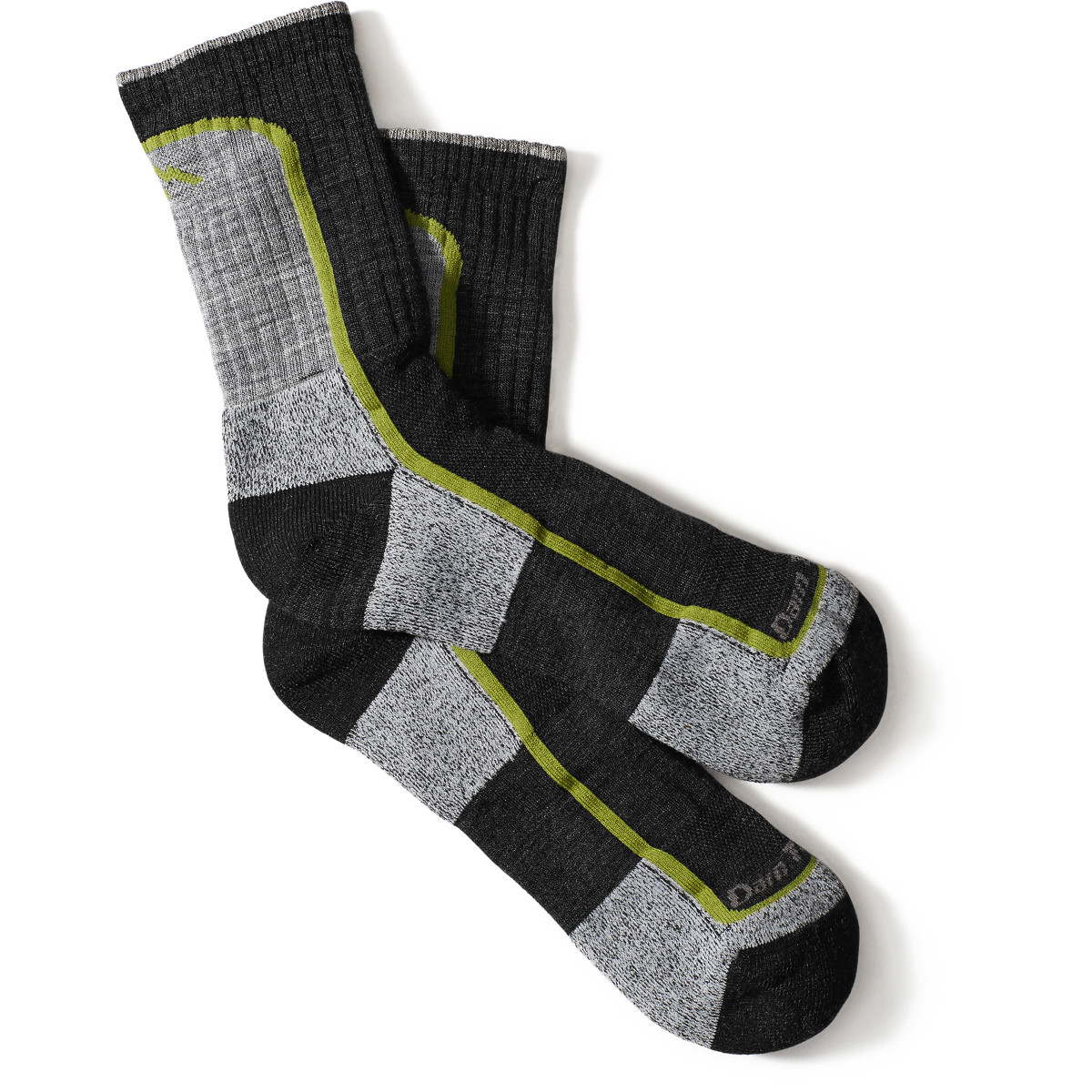 Darn Tough Socks Lt Hiker Micro Crew Lt Cushion - Charcoal