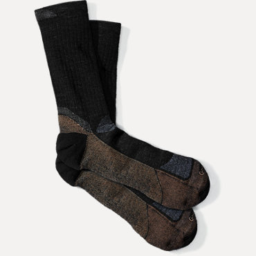 Goodhew Socks Men's Quest Crew - Black