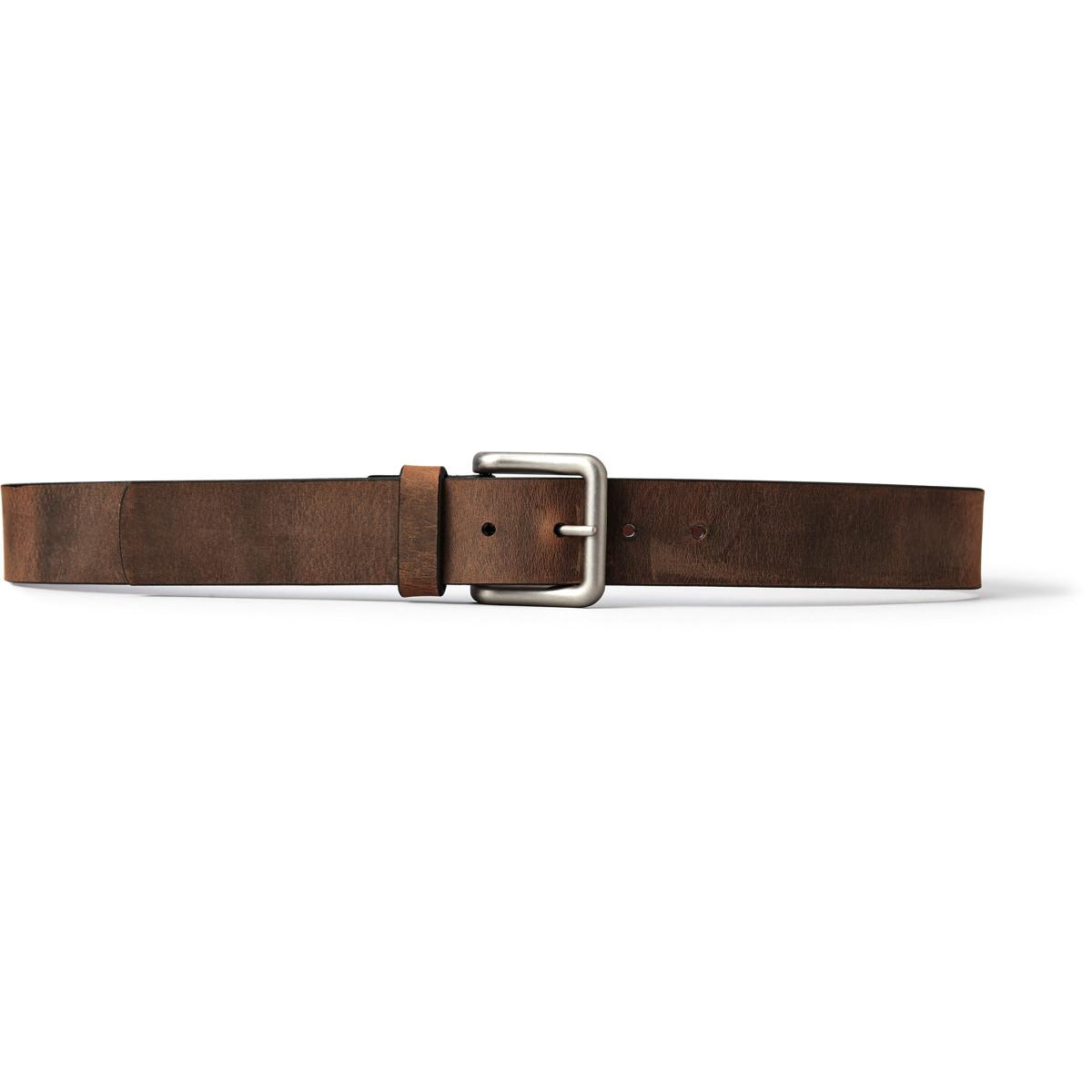 Danner Crazyhorse Pointer Belt - Brown w/ Nickel