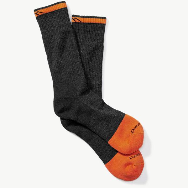 Darn Tough Steely Full Cushion Boot Sock - Graphite