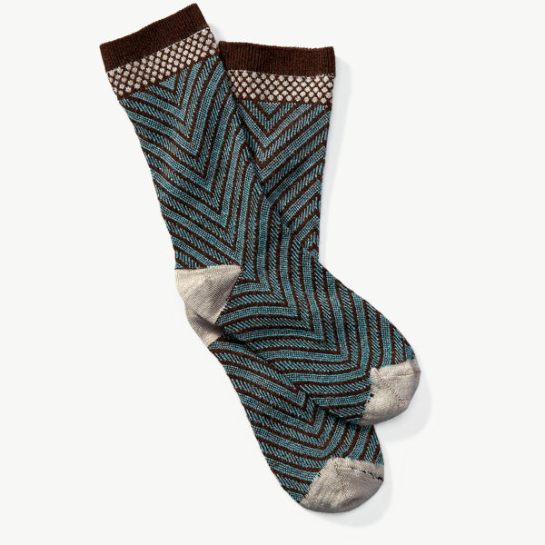 Goodhew Women's Very V Sock - Espresso