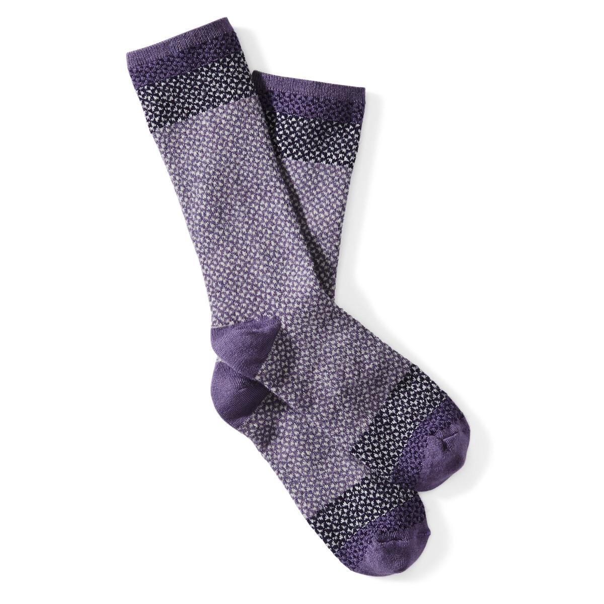 Goodhew Women's Bowtie Sock - Plum