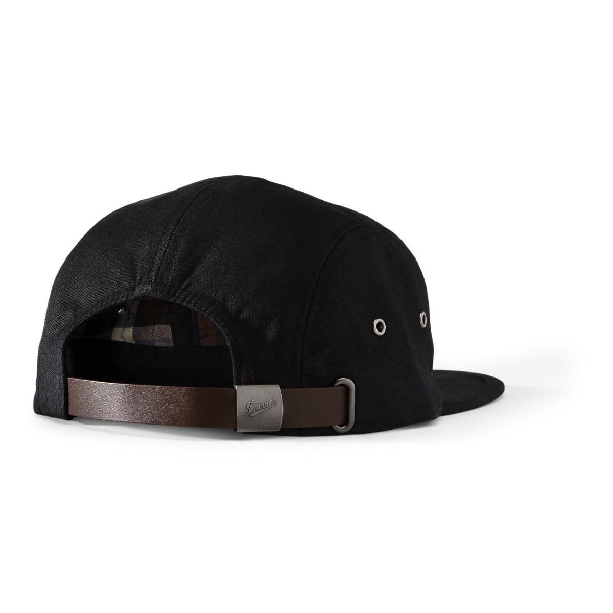 Danner Five Panel Flat Cap - Black