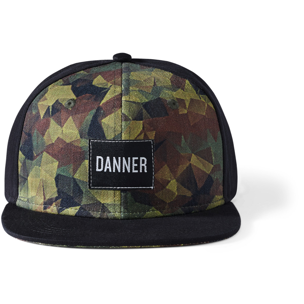 Danner Five Panel Hat - Green/Brown/Black