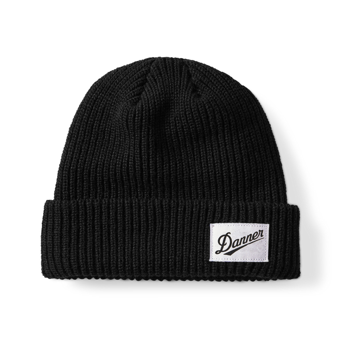 Danner Ribbed Beanie - Black