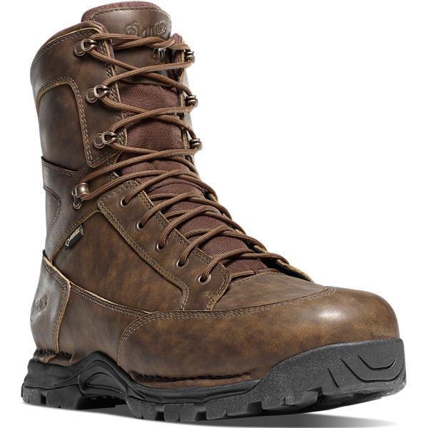 """Pronghorn 8"""" Brown All-Leather 400G"""