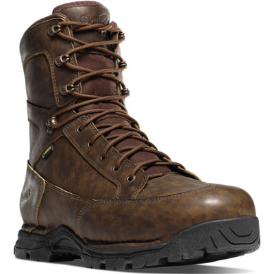 """Pronghorn 8"""" Brown All Leather"""