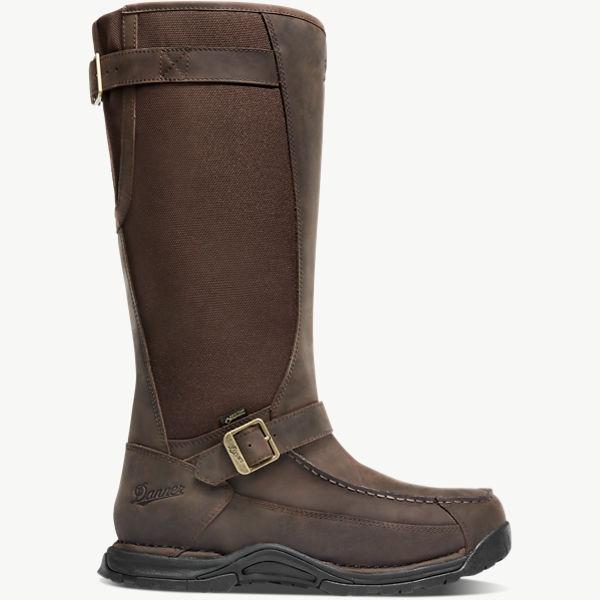 """Sharptail Snake Boot 17"""" Dark Brown"""