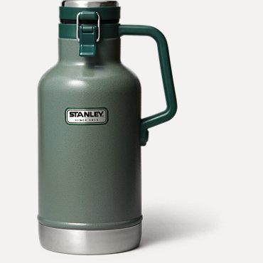 Stanley Classic Vacuum Growler - Hammertone Green