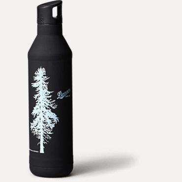 Danner Insulated Doug Fir Water Bottle 23oz - Black