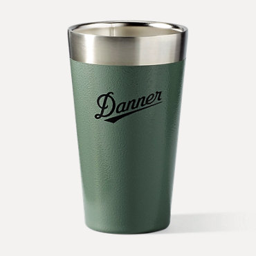 DannerxStanley Vacuum Stacking Pint - Hammertone Green
