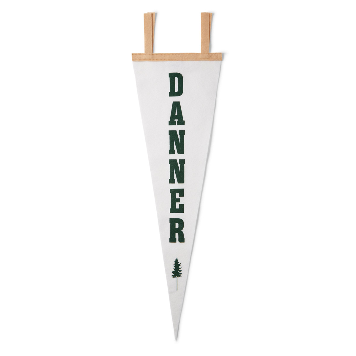 Danner Tree Pennant - White/Green