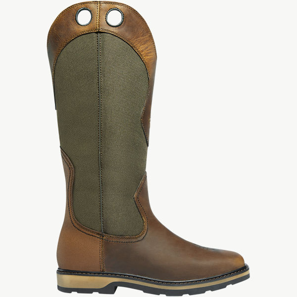 "Snake Country Snake Boot 17"" Olive Hot"