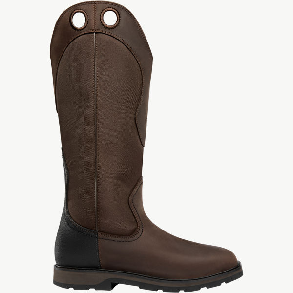 "Snake Country Snake Boot 17"" Brown"