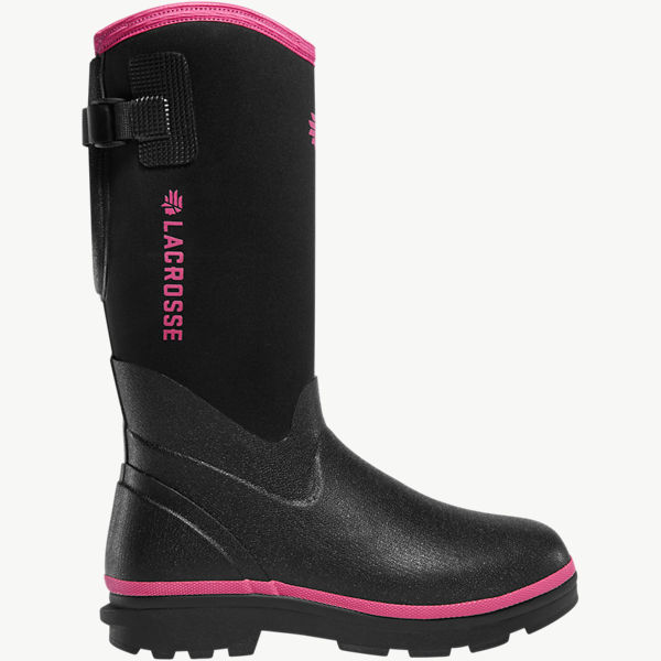 "Women's Alpha Range 12"" Black/Pink 5.0MM"