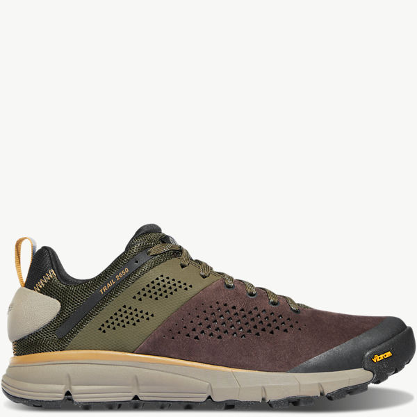 "Trail 2650 3"" Dark Brown/Green"