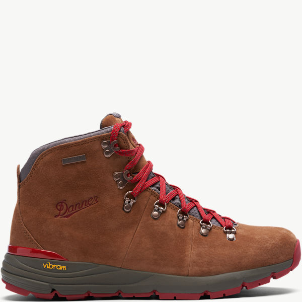 "Mountain 600 4.5"" Brown/Red"