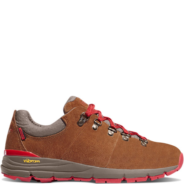 """Women's Mountain 600 Low 3"""" Brown/Red"""